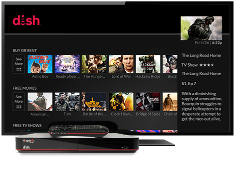 Ondemand TV from DISH | PRO SATELLITE